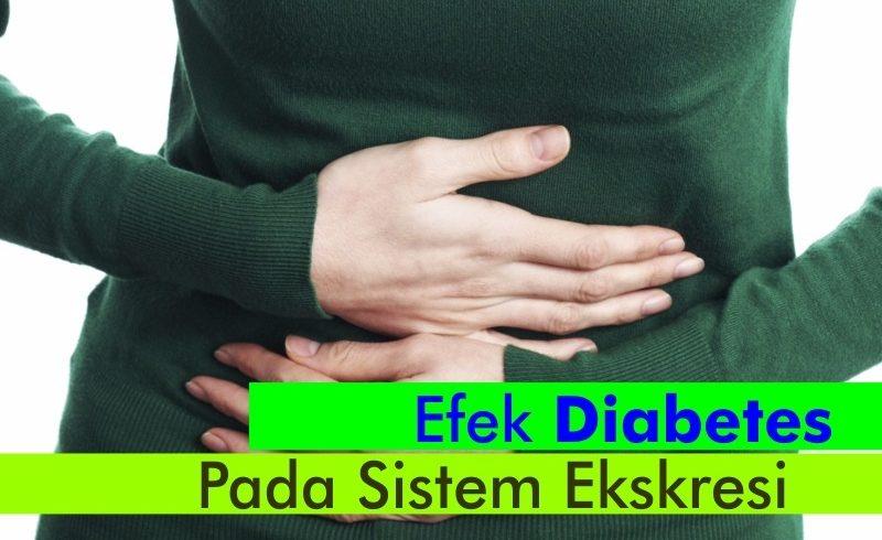 Efek Diabetes Pada Sistem Ekskresi (Pembuangan)