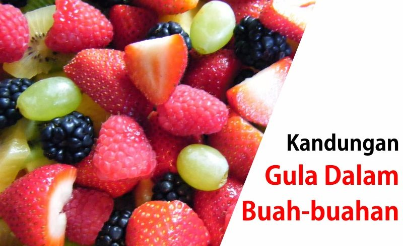 Kandungan Gula dalam Buah-buahan – Tips