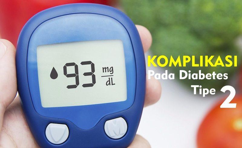 Komplikasi pada diabetes tipe 2