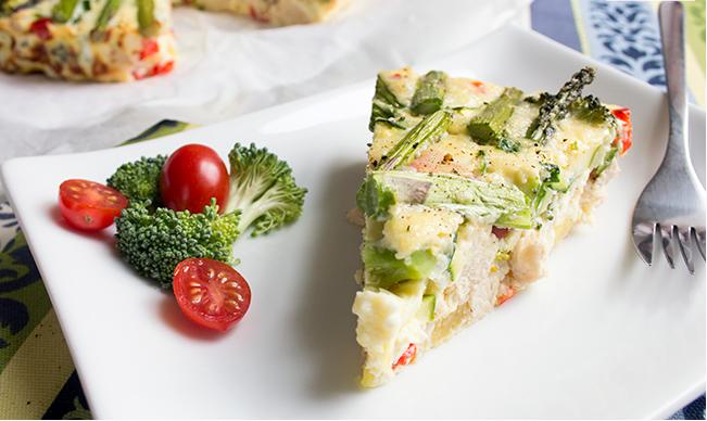 Resep Diabetes Friendly – Resep Ayam dan Sayur Fritatta